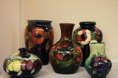 Large selection of Moorcroft Pottery