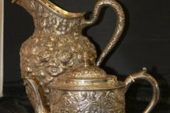 Hester Bateman Teapot c.1784Shultz Baltimore Sterling Silver Teapot